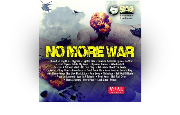 the No More War Riddim, featuring Gyptian