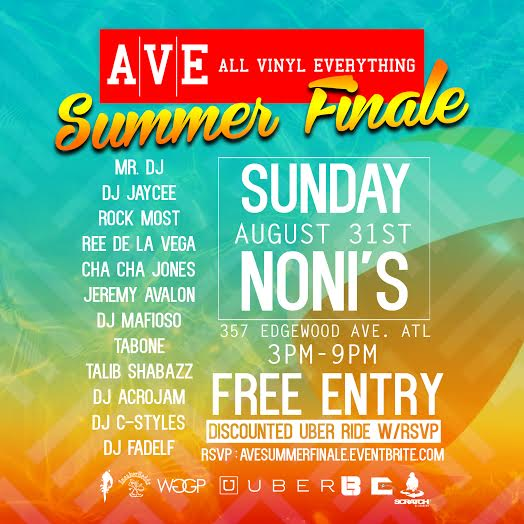 ALL VINYL EVERYTHING | Summer Finale  | FREE Day Party Sunday 8/31 at Noni's