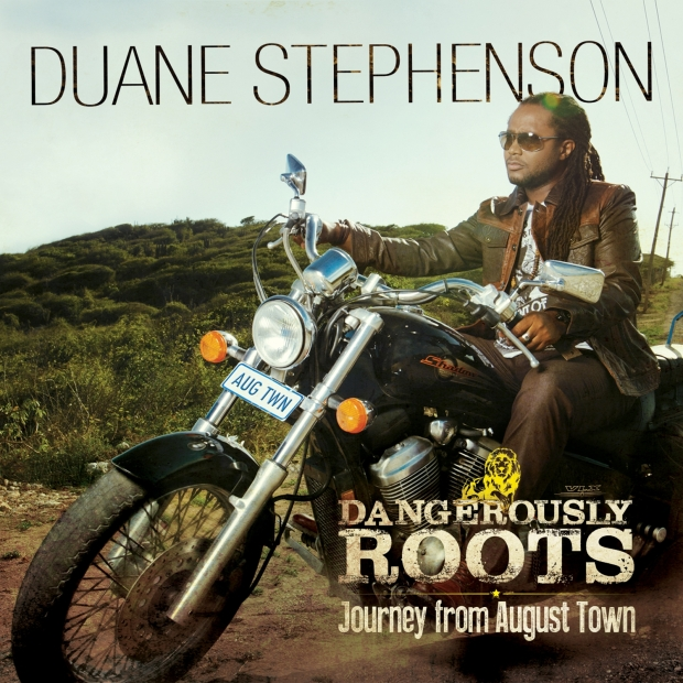Duane Stephenson - Dangerously Roots - Artwork