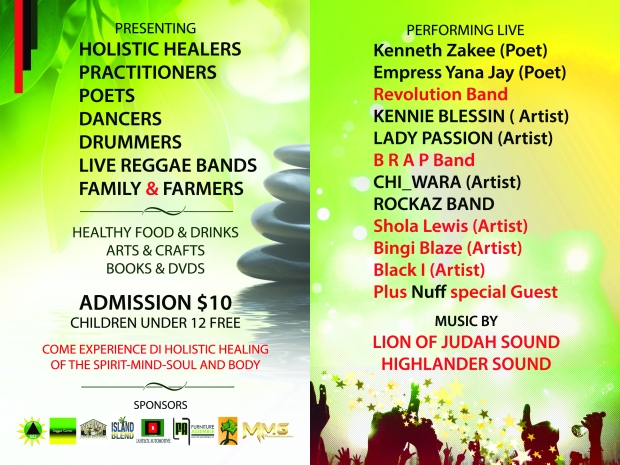2nd Annual, Health & Wellness Reggae Musik Festival