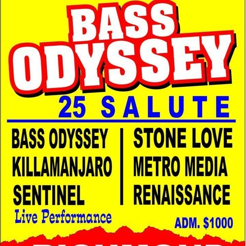Bass Odyssey Sound System celebrates 25 years with Jamaica's first sound system festival on August 8, 2014 in Richmond, St. Ann. Next year's staging on Saturday, August 8, 2015.