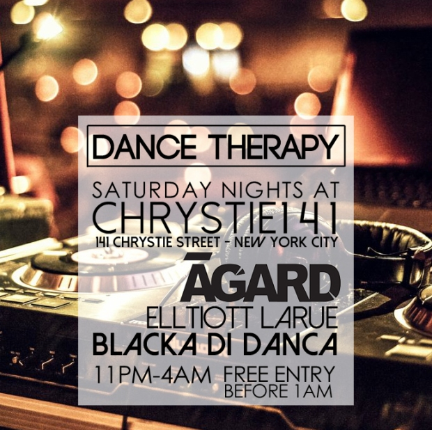 Saturday Nights New York City Lower East Side Dance Therapy at Chrystie 141