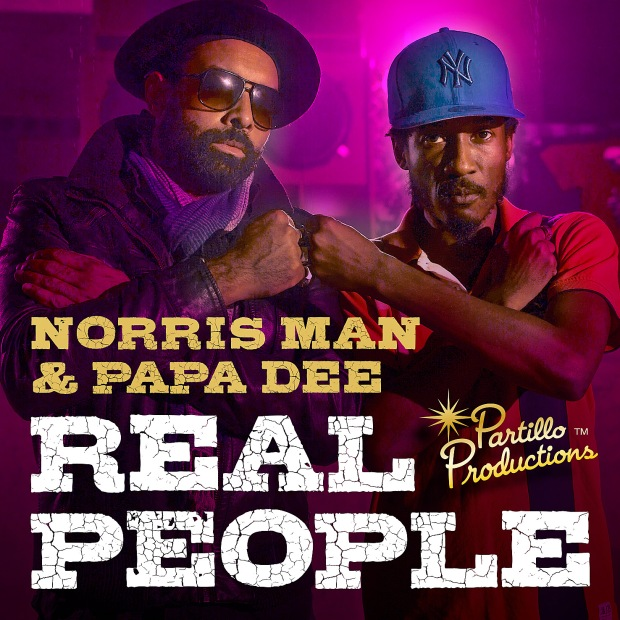 Norris Man & Papa Dee - Real People (Partillo prod) COVER