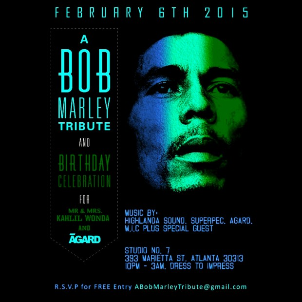 Bob Marley Birthday 2015 Promotional Mix by Highlanda and Archangel