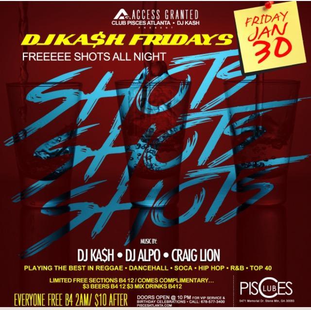 DJ Kash Friday's