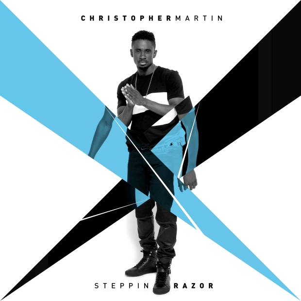 Christopher Martin - Steppin Razor (EP) - Artwork