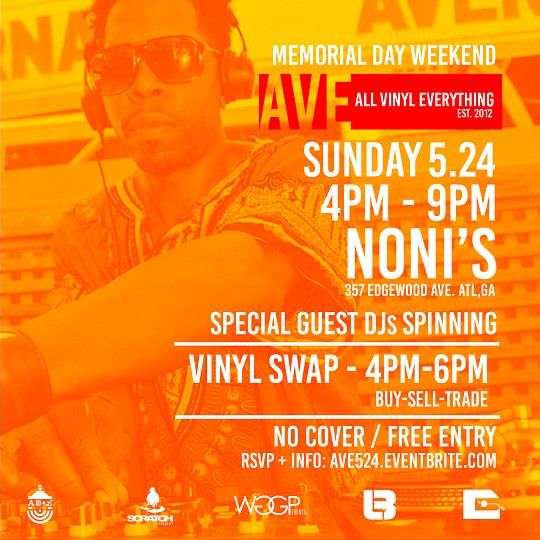 The All Vinyl season continues Memorial Day Weekend