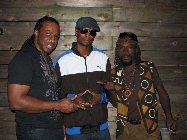 1st Sundays Rocksteady ATL image: Anthony Malvo, Kahlil Wonda, and Little Twitch