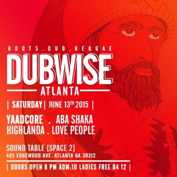 Rocksteady ATL hosts Dubwise Atlanta at Space 2, Saturday June 13th, 8pm