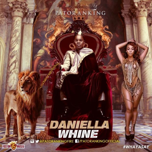 Patoranking - Daniella Whine - Artwork