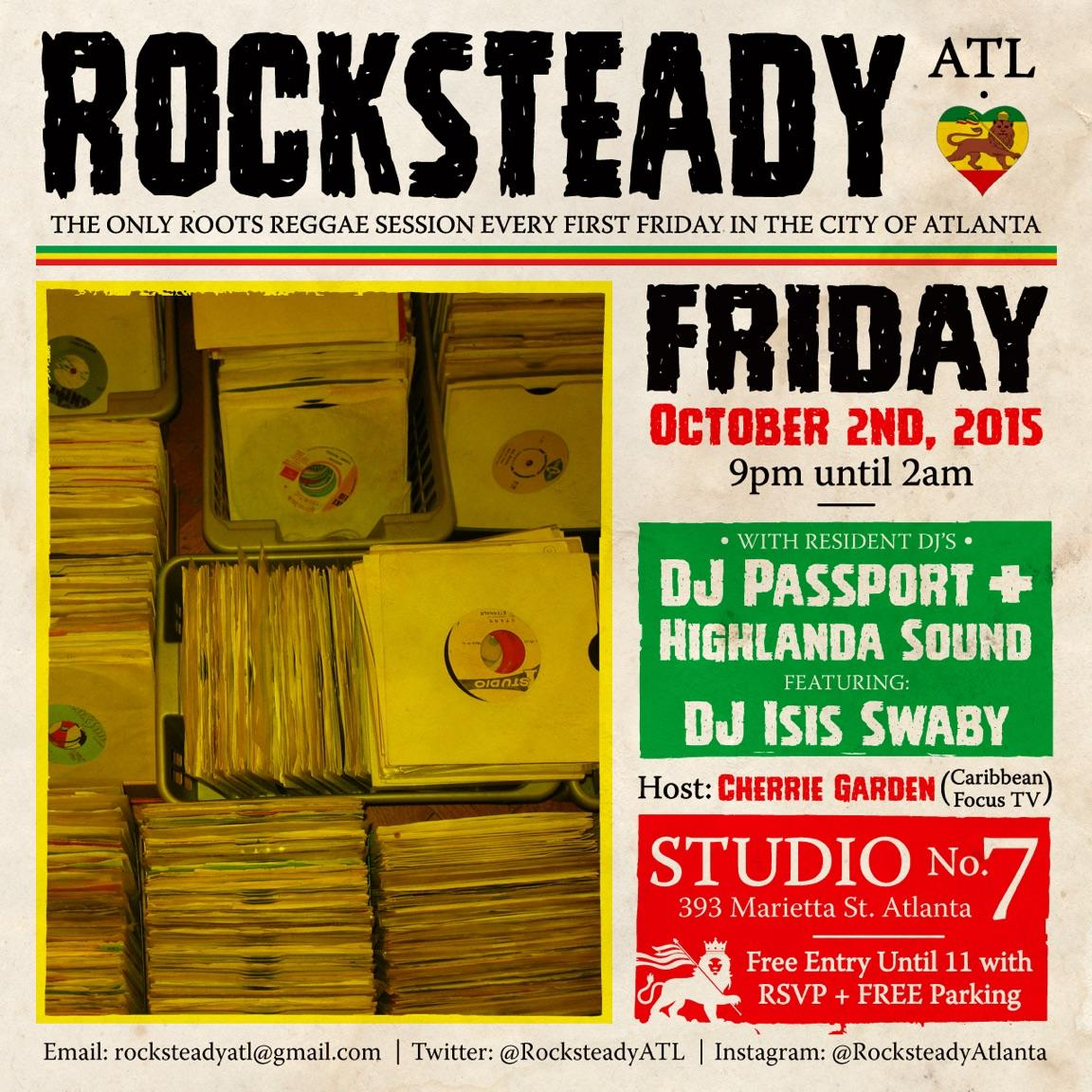 isis swaby rocksteady atl