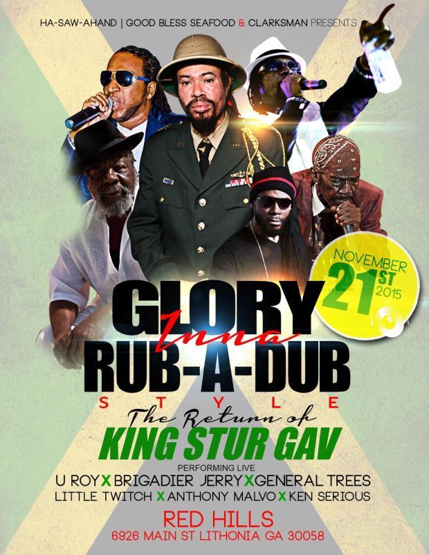 King Stur Gav in ATL at Red Hills Ballroom November 21st