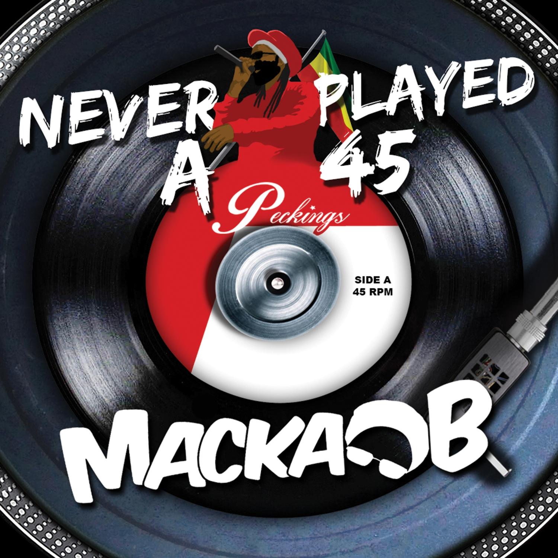 Macka B - Neva Played A 45 - Artwork