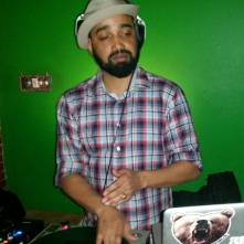 image: DJ Passport at The Sound Table for Highlanda.net and The Honorary Citizen's RUB-A-DUB session