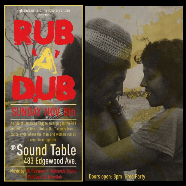 Rub A Dub Nov 8 artwork
