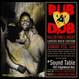 Highlanda.net and The Honorary Citizen present a Rub-A-Dub Valentines Night Affair