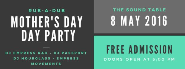 Free daytime indoor/outdoor reggae music event