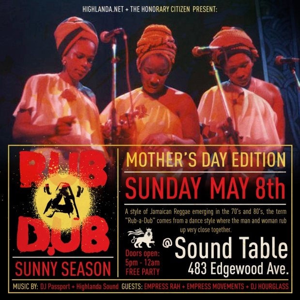 Rub Mothers Day May 1