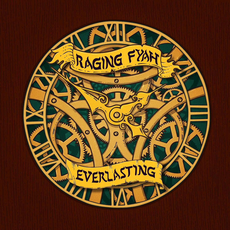 "Raging Fyah ""Everlasting"" artwork"