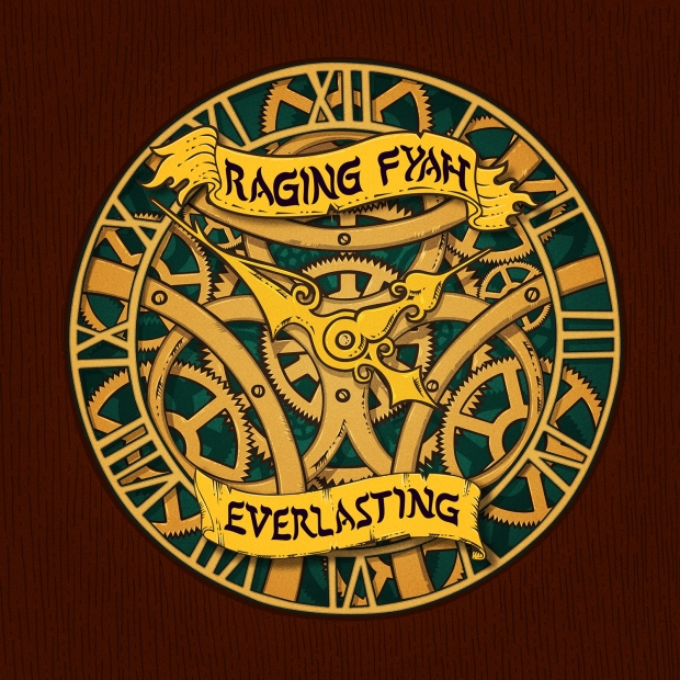 "Raging Fyah ""Everlasting"" artwork"