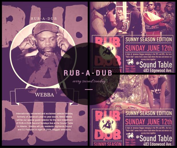 Rub-A-Dub featuring WEBBA
