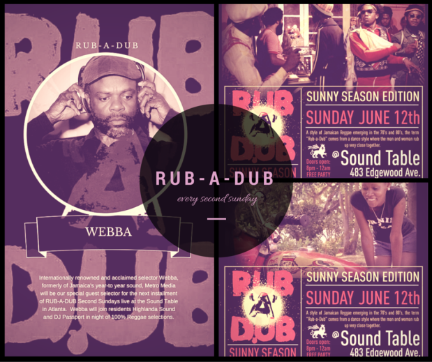 Rub-A-Dub featuring WEBBA