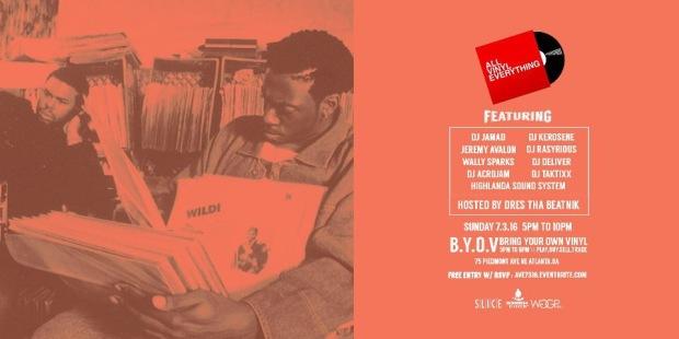 B.Y.O.V. | Bring • Your • Own • Vinyl |