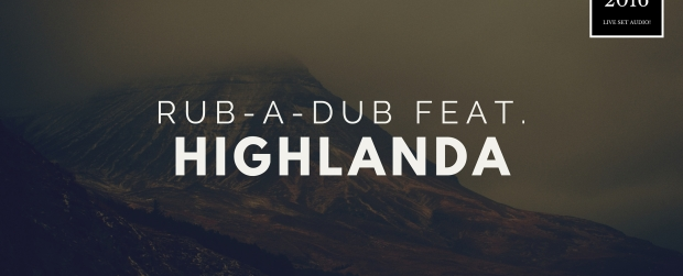 Live recording of Highlanda at Rub-A-Dub ATL (2nd Sundays) #rocksteadyatl