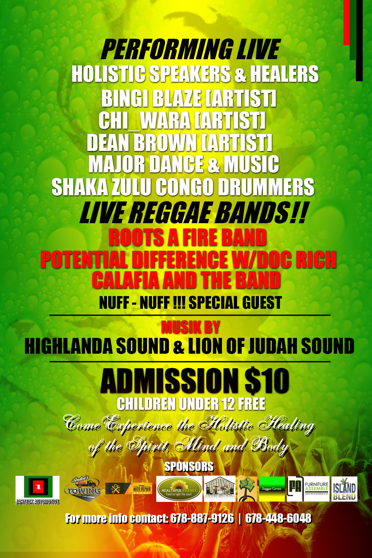 Health and Wellness Reggae Musik Festival 2016 « Reggae