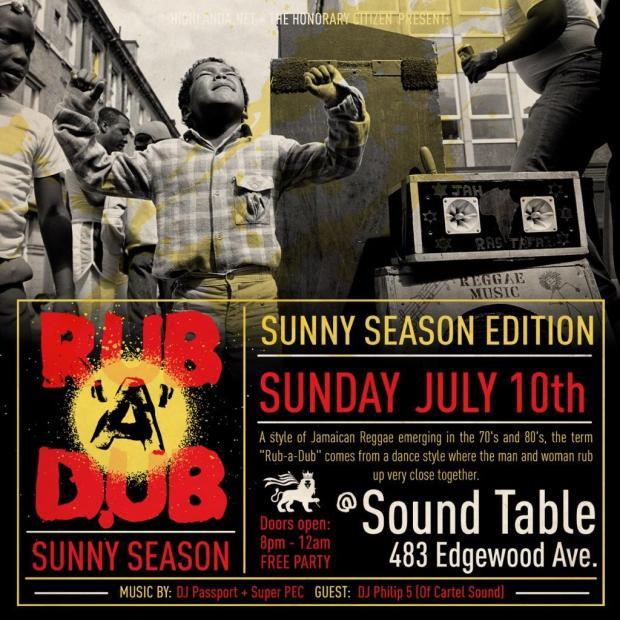 Rub-A-Dub Atlanta Reggae Event