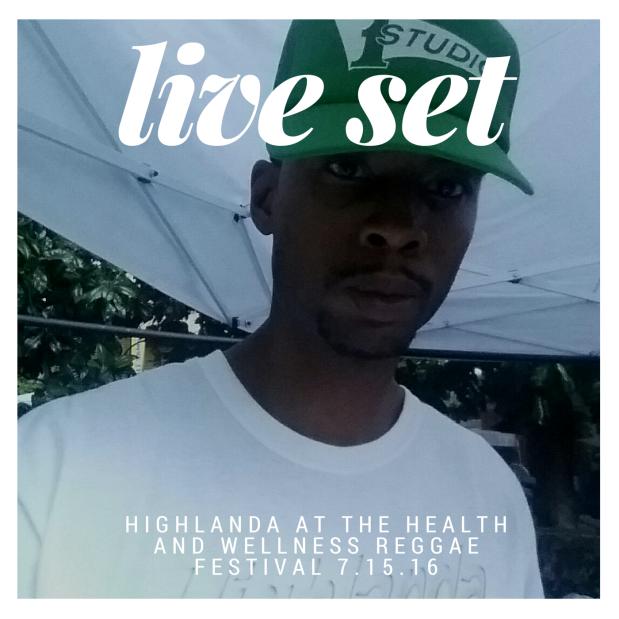 Kahlil Wonda at Health and Wellness Reggae Festival