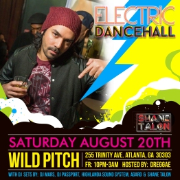 Electric Dancehall Shane square