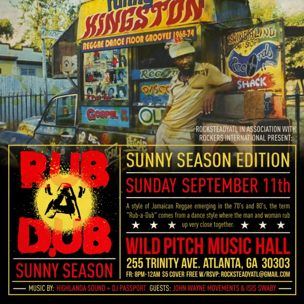 Rub A Dub Sept 2016