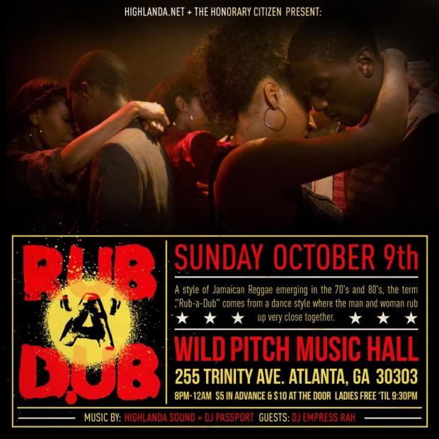 Rub A Dub ATL promo image for Oct. 9, 2016