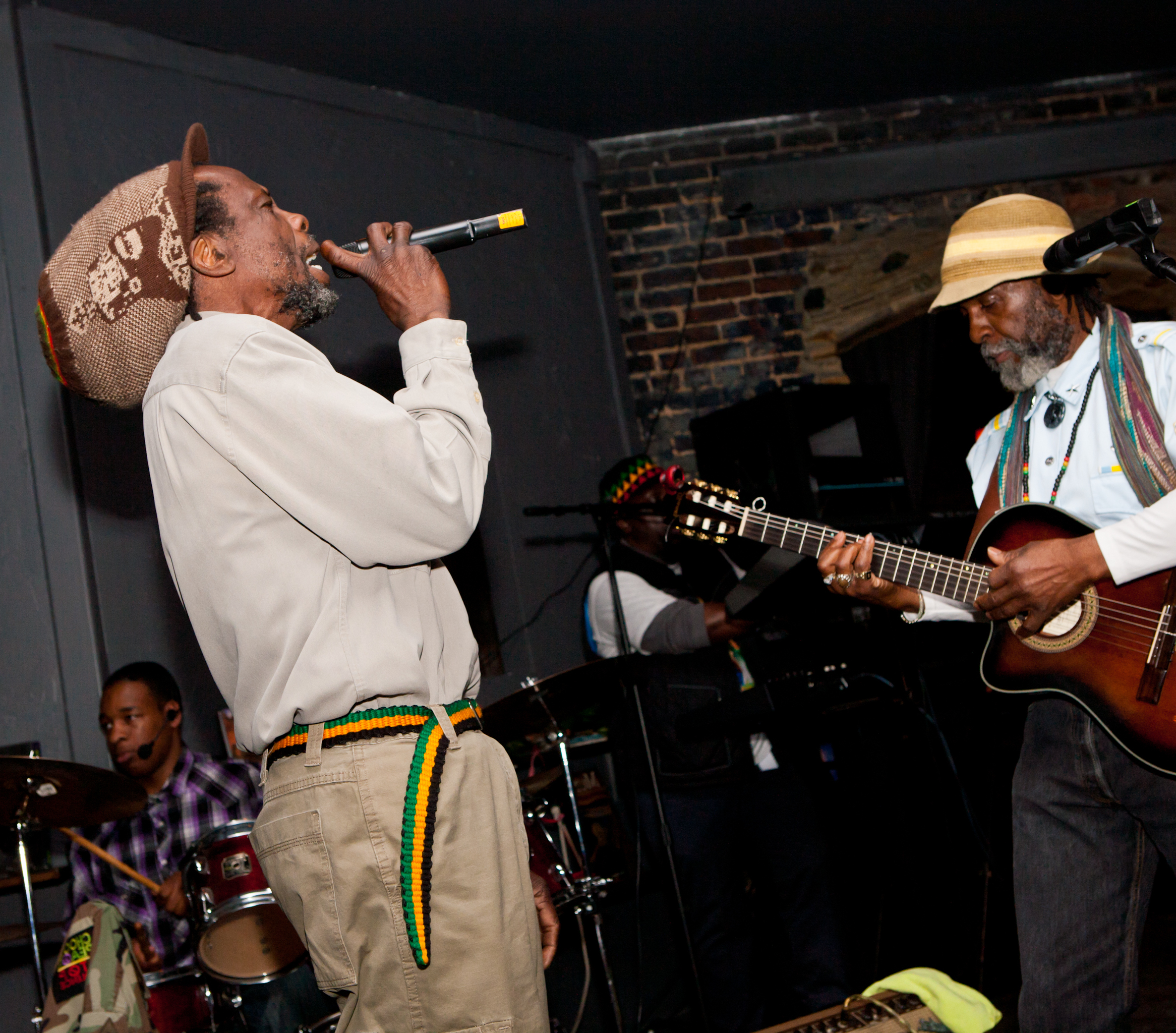 Ijahknowah and his band, B.R.A.P
