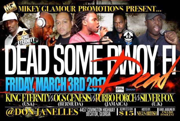 photo: Soundclash Atlanta event promotion