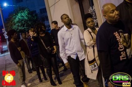 Photo of people on line at Rub-A-Dub ATL Bob Marley Tribute Atlanta party