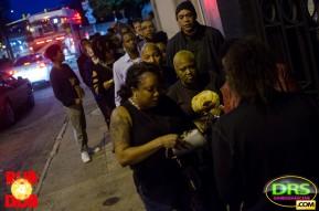 photo: Crowds gather at Rub-A-Dub ATL