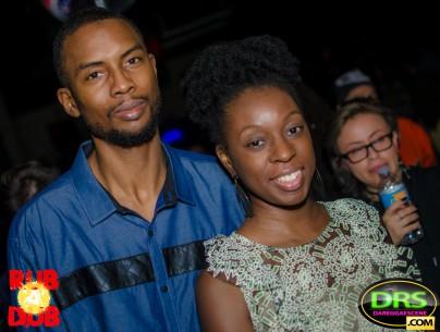 photo of Highlanda's Kahlil Wonda with Mrs. Wonda at RubADubATL Bob Marley Tribute