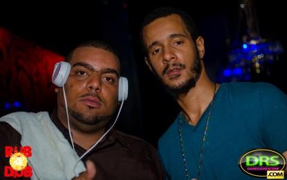 photo of Bad Boy Kurt from Black Magic Sound and Dappa Lee from Innocent Sound at Rub-A-Dub ATL Bob Marley Tribute 2017