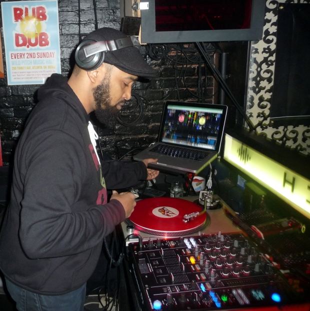 DJ Passport live DJ Set at Rub-A-Dub ATL