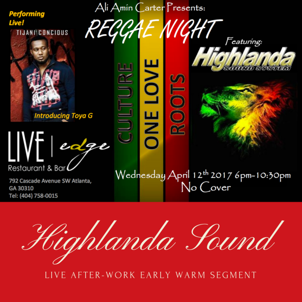 Highlanda Sound live audio, cover artwork