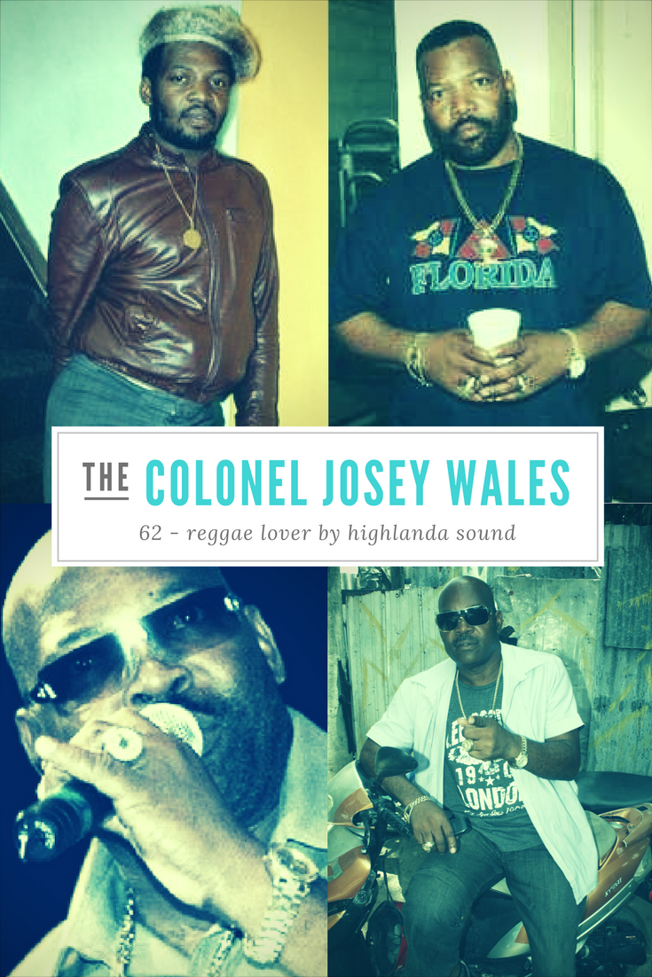 Josey Wales, born Joseph Winston Sterling in St. Mary, Jamaica is an influential Jamaican dancehall deejay.