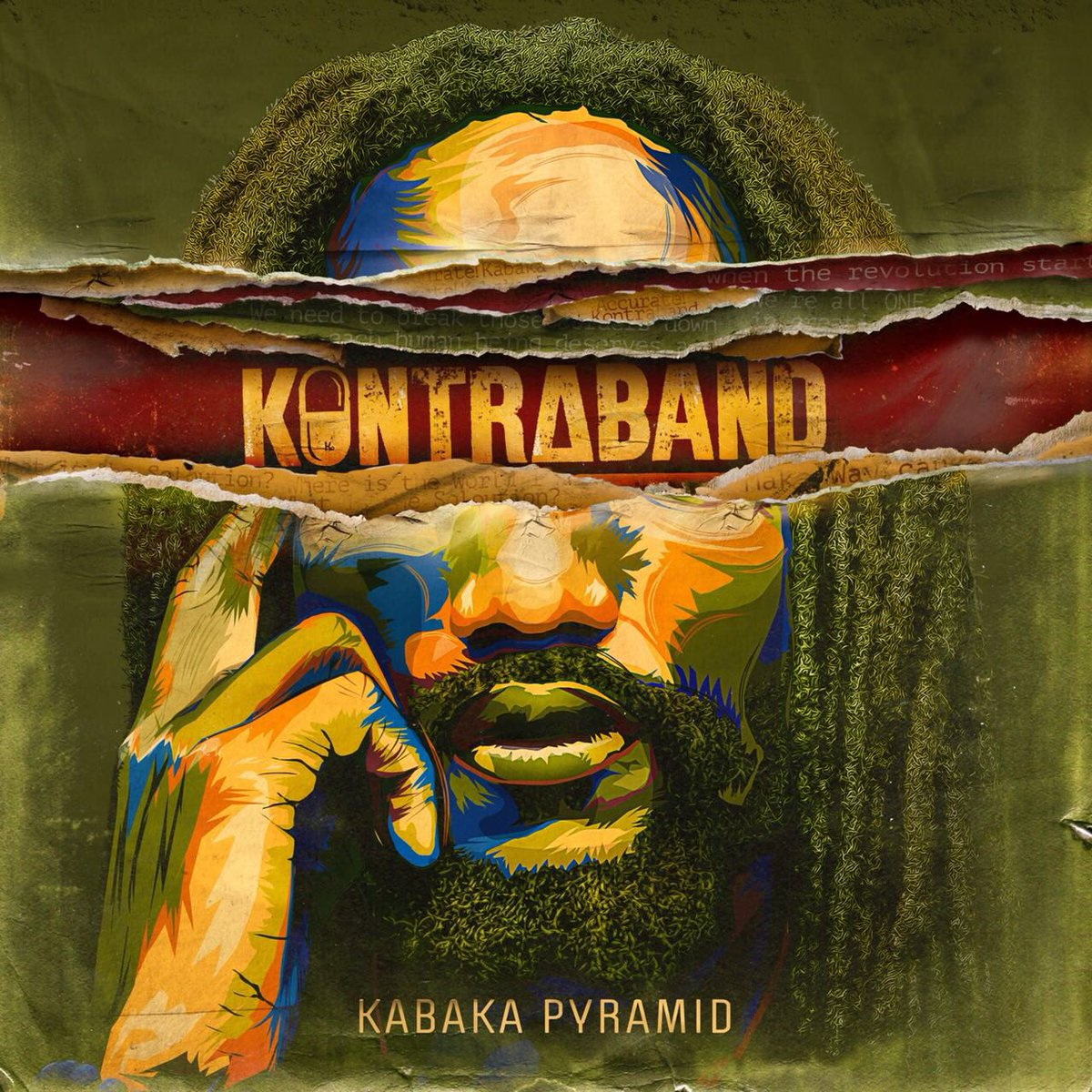 Kabaka Pyramid - Kontraband. DIGITAL RELEASE [Ghetto Youths International, Bebble Rock Records].