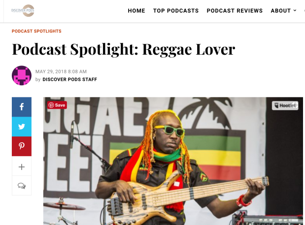 Podcast Spotlight: Reggae Lover
