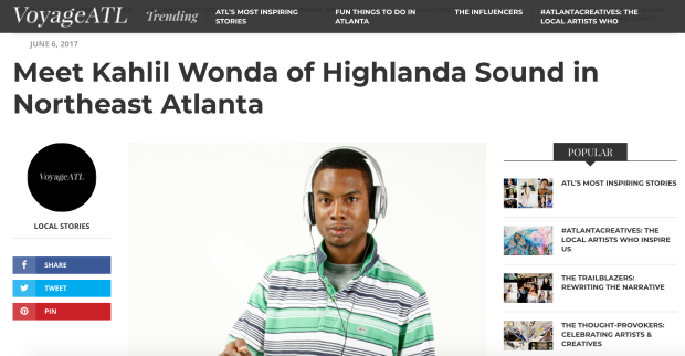 Meet Kahlil Wonda of Highlanda Sound