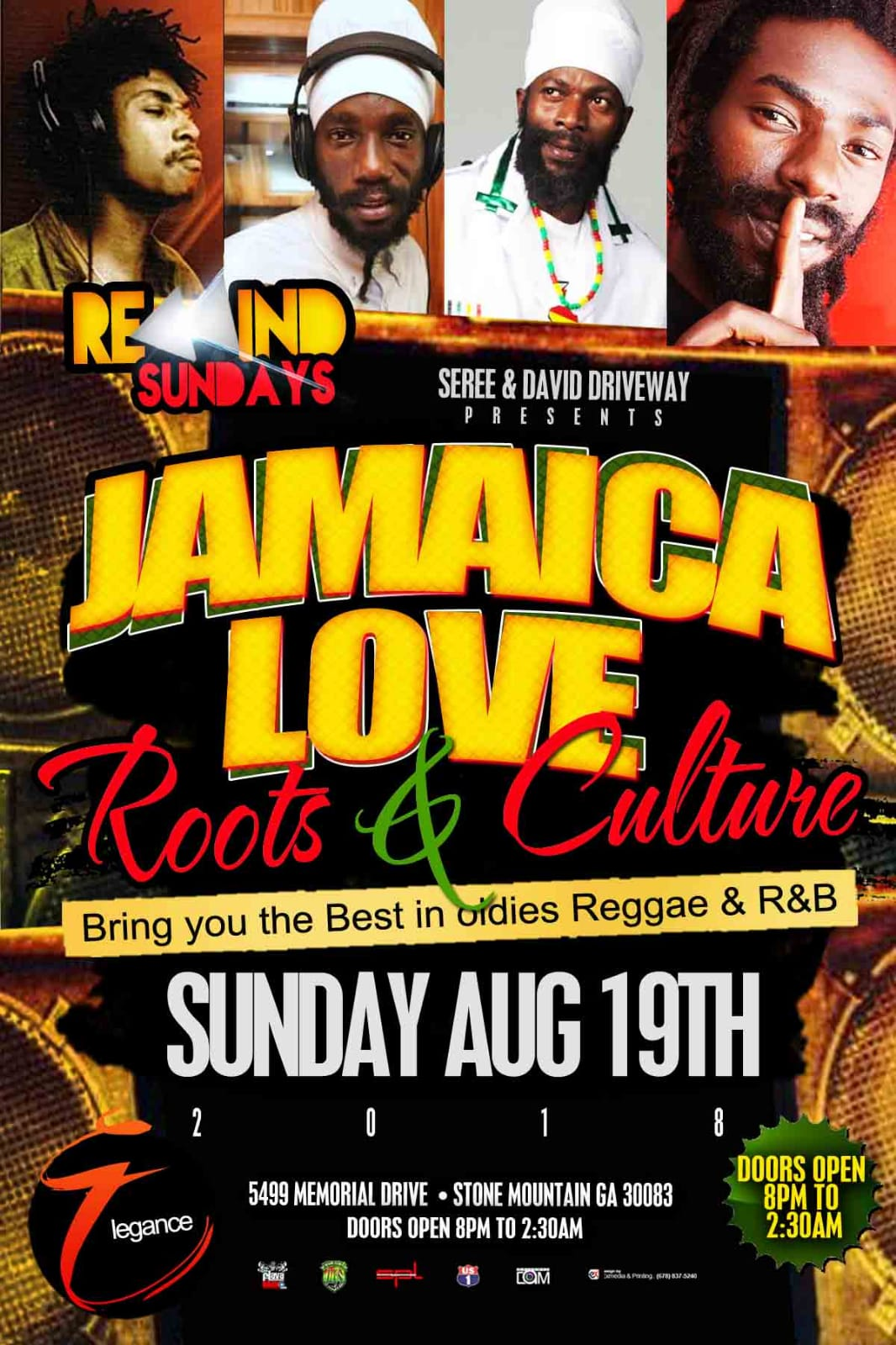 Go to #Eventbrite and get the complimentary tickets and special prices tickets and bottle packages #RewindSundays #JamaicaLove #RootsNCulture