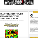 BLACKRADIOISBACK.COM MUSIC: HIGHLANDA SOUND SYSTEM DANCEHALL NOW PODCAST