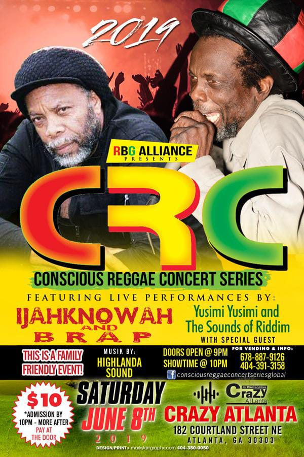 Highlanda Sound at the Conscious Reggae Concert series in Atlanta