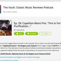 The Vault: Classic Music Reviews Podcast The Vault: Classic Music Reviews Podcast